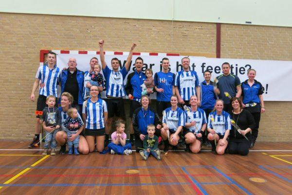 Roda 3 kampioen reserve tweede klas. Voor het eerst in 25 jaar een reserve team dat reserve eerste klas gaat spelen.