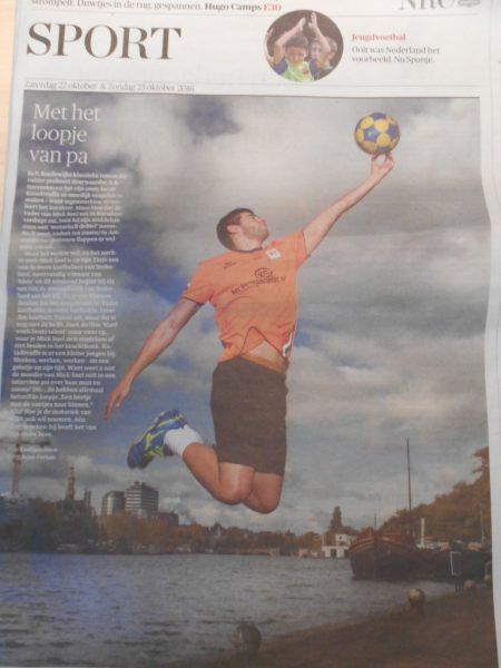 Mick Snel in NRC Handelsblad op 22 oktober