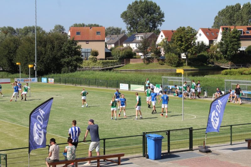 """Het Roda """"Vier Provinciën Toernooi"""" met een blik op de wedstrijd Tjoba 1 en Tilburg 1."""